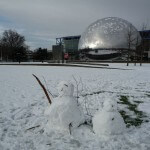 Forte chute de neige sur Paris