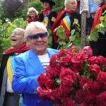 Michou, parrain de la rose République de Montmartre, Paris 18e (75)
