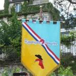 Bannière de la République de Montmartre, Paris 18e (75)